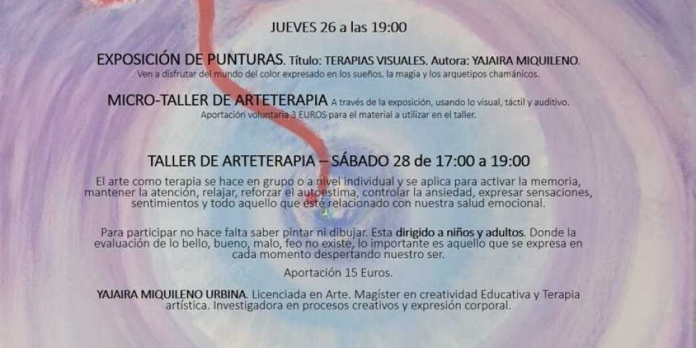 Taller de Arteterapia Visual